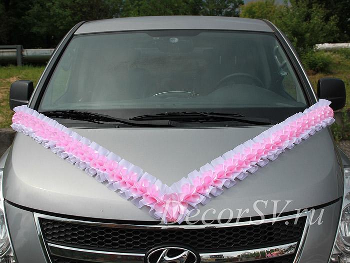 Сшить украшения на свадебную машину своими руками