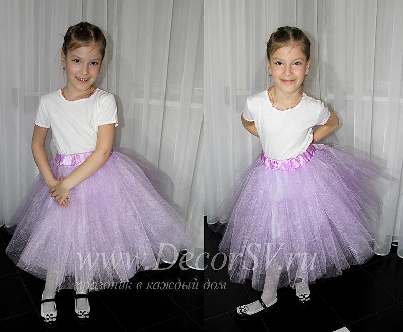 Фатиновая юбка фото для девочки